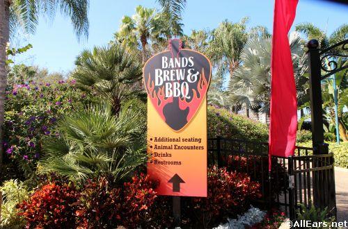 SeaWorld Bands Brew BBQ