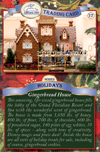 Gingerbread Castle at the Grand Floridian Hotel