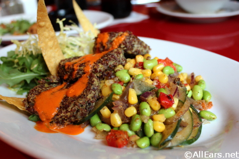 Sautéed Red Quinoa Cakes - Whispering Canyon Cafe - Wilderness Lodge