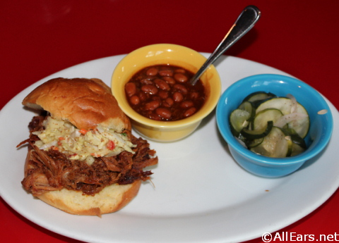 Slow-smoked Pulled Pork Sandwich  - Whispering Canyon Cafe - Wilderness Lodge
