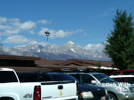 Grand Teton from airport