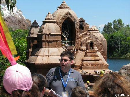 Tom Corliss History Walk of Animal Kingdom Asia