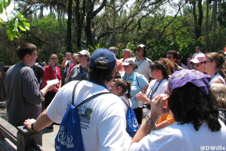 Tom Corliss History Walk of Animal Kingdom
