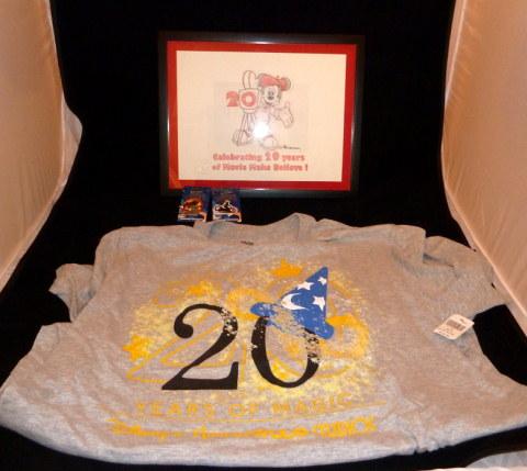Disney Hollywood Studios 20th Anniversary Lot