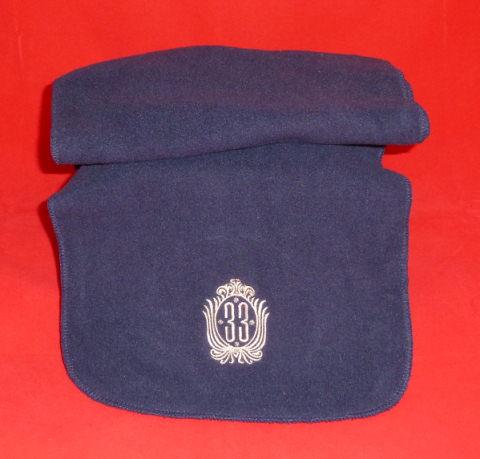 Club 33 Fleece Scarf Navy blue
