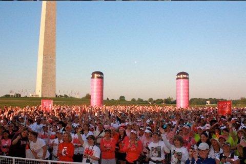 Avon Walk for Breast Cancer Washington DC