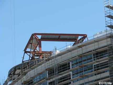 Bay Lake Tower Construction September 2008
