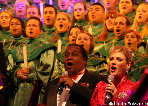 Voices of Liberty Epcot's Candlelight Processional