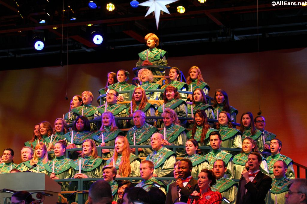 Epcot S Candlelight Processional Narrators And Dining Package Details Announced Allears Net