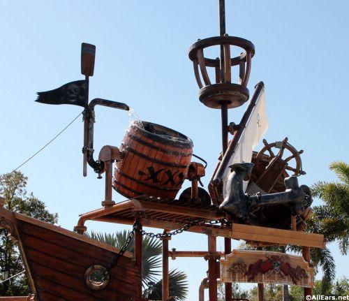 Caribbean Beach Kids Pirate Themed Splash Zone