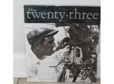 Disney twenty+three Premiere Issue