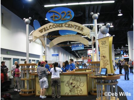 D23 Expo Welcome Center