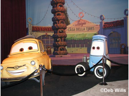 Carsland in the Disney Parks and Resorts Area