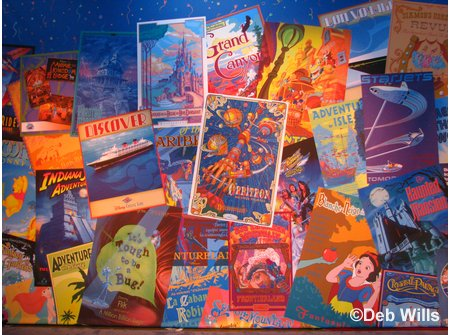 Disney Parks and Resorts Attraction Poster Mural