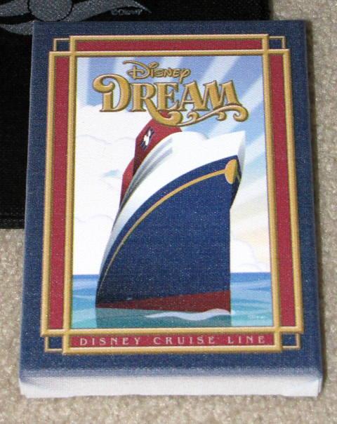 Disney Dream Cruise Canvas Art Rendering
