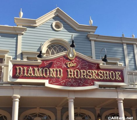 Diamond Horseshoe - Magic Kingdom