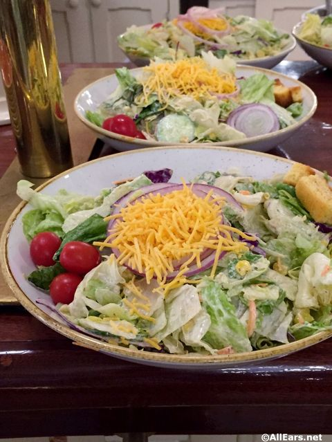 Frontier Salad Diamond Horseshoe Magic Kingdom