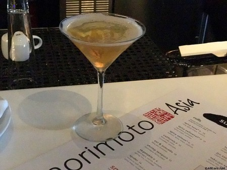 Morimoto Asia at Disney Springs Manhattan East Cocktail