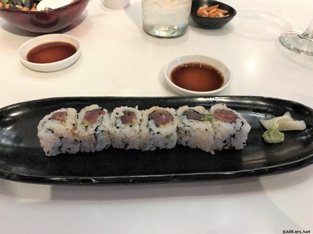 Spicy Tuna Roll Morimoto Asia at Disney Springs