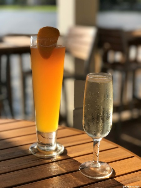 Blue Moon Beer and Proseco