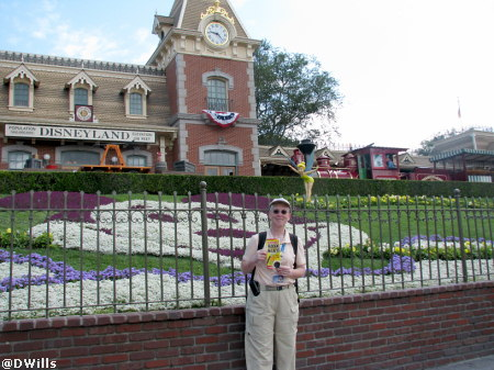 Deb and  Hidden Mickeys at Disneyland