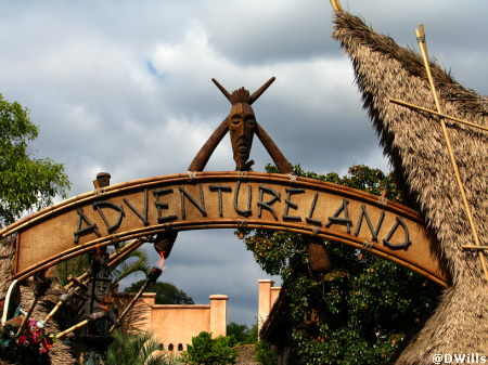 Adventureland at Disneyland