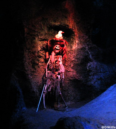 Pirates of the Caribbean in Adventureland at Disneyland