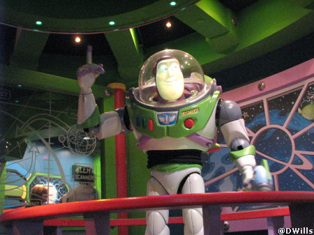 Buzz AstroBlasters at Disneyland