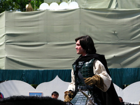 Prince Caspian at Disneyland