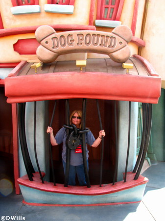 Toon Town at Disneyland