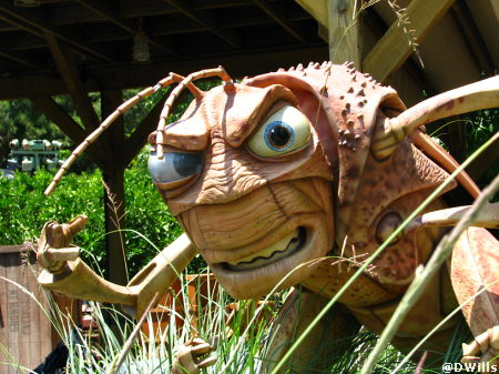 Hopper in A Bug's Land in Disney's California Adventure