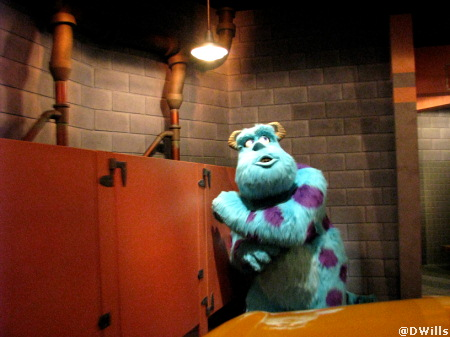 Monster's Inc. in Disney's California Adventure