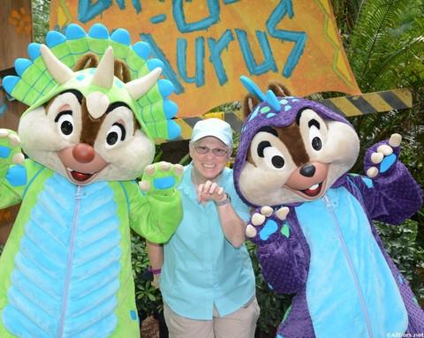 Donald's Dino-Bash -Animal Kingdom