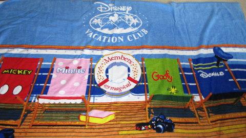 Disney Vacation Club Beach Towel-