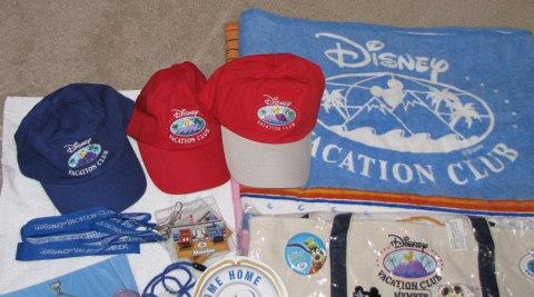 Disney Vacation Club Hats, Lanyards-