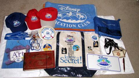 Disney Vacation Club Merchandise Lot-