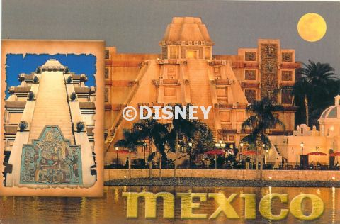 Epcot World Showcase Postcards