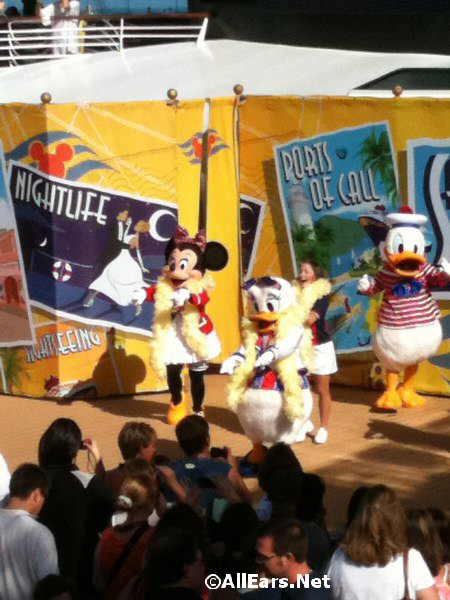 Minnie, Daisy and Donald