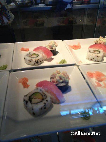 Sushi at Cabanas