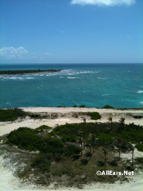 Castaway Cay water