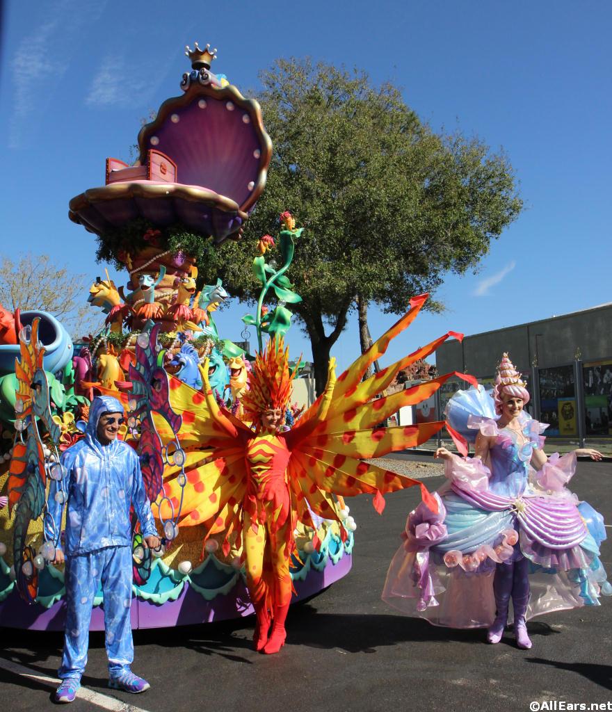 Festival of fantasy parade details revealed deb 39 s digest for Princess float ideas