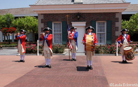 Spirit of America Fife and Drum Corps Epcot