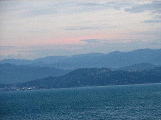 Arriving at La Spezia