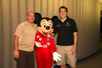 Race Car Driver Mickey Mouse