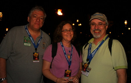 Mike Scopa, Michelle Scribner-MacLean and Jack Marshall