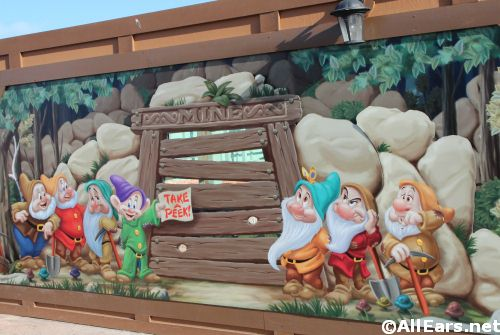 Seven Dwarfs Mine Train Magic Kingdom