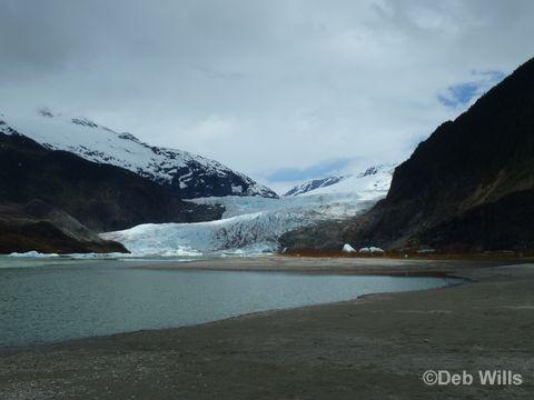 Disney Wonder Juneau Alaska Mendenhall Glacier