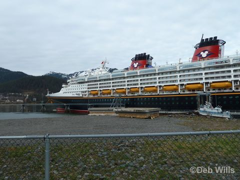 Disney Wonder Juneau Alaska