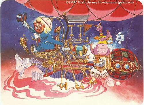 Journey Into Imagination Postcard Epcot