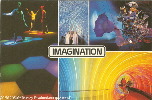 One Little Spark in Journey into Imagination Postcard